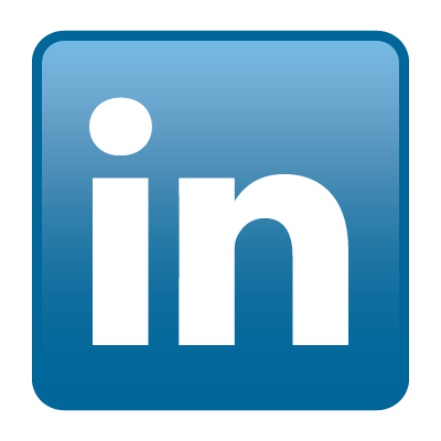 linkedin icon logo vector 400x400